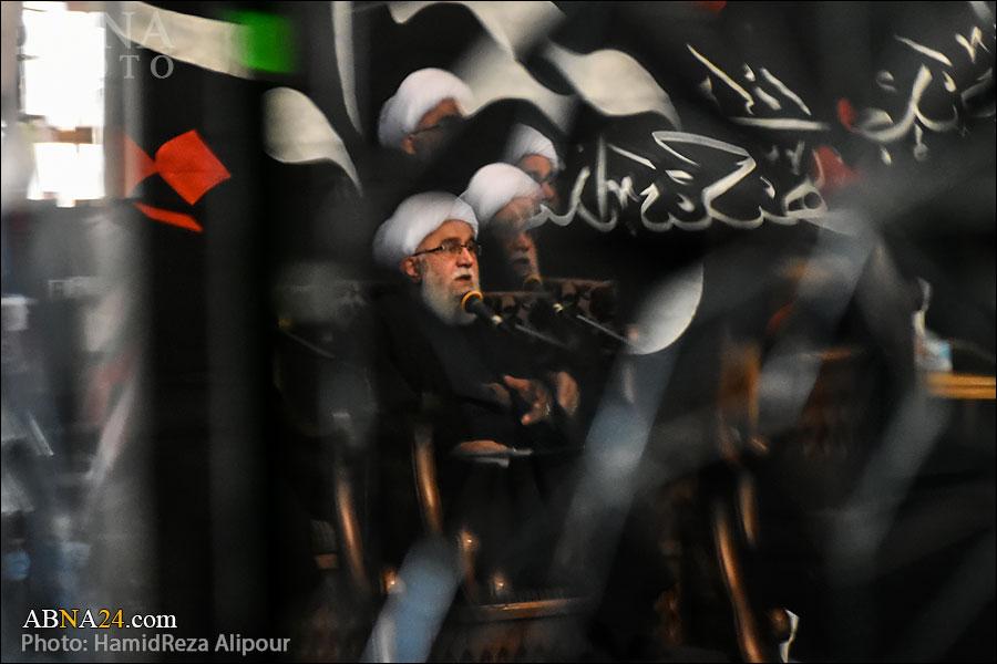 گزارش تصویری/ مراسم عزاداری سالروز شهادت حضرت زهرا(س) در بقعه خواهر امام رشت