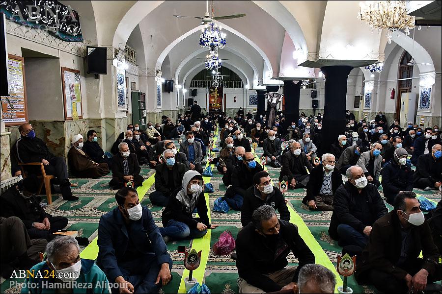 گزارش تصویری/ مراسم عزاداری شهادت حضرت زهرا(س) در مسجد جامع لاهیجان
