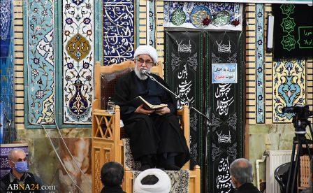 گزارش تصویری/ عزاداری شب شهادت حضرت زهرا(س) در مسجد جامع آستانه اشرفیه