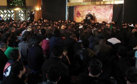 گزارش تصویری/ مراسم عزاداری ظهر عاشورا در مرکز اسلامی هامبورگ