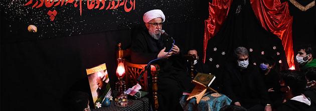 آیتالله رمضانی: مجلس فاطمی انسان را تربیت میکند/ حضرت فاطمه(س) محو جمال و جلال خداوند بود