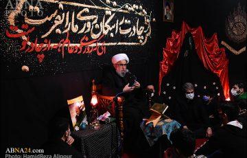 مجلس عزاداری فاطمیه در کانون جوانان رضوی گیلان با سخنرانی آیتالله رمضانی