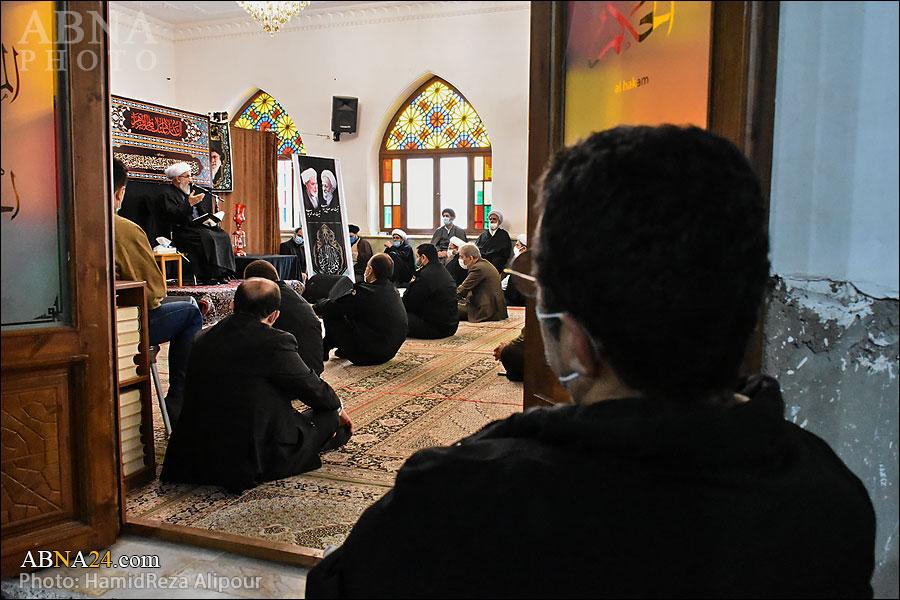 گزارش تصویری/ مراسم بزرگداشت علامه مصباح و آیتالله یزدی در فومن