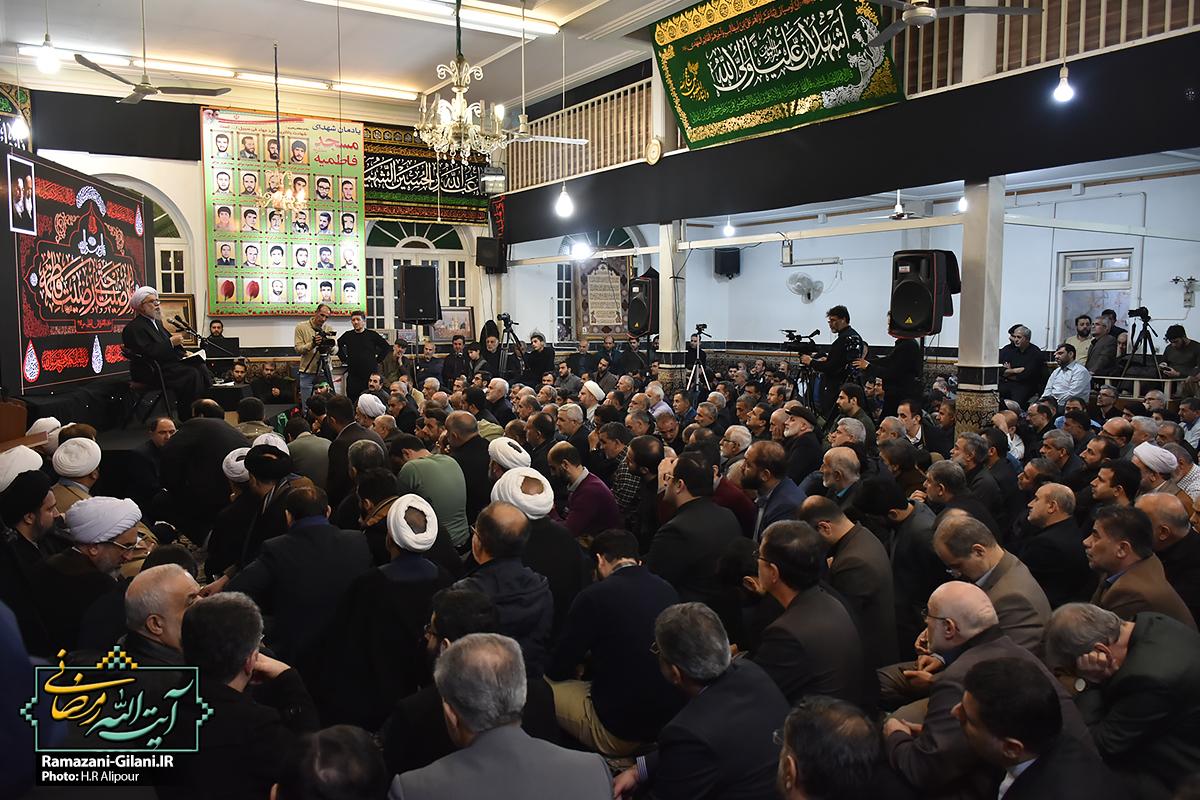 گزارش تصویری/ یادواره ۲۳ شهید مسجد فاطمیه رشت