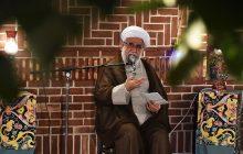 دیدار صمیمانه هنرمندان انقلابی گیلان با آیتالله رمضانی
