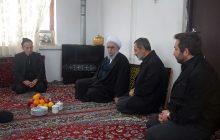 دیدار آیتالله رمضانی با خانواده شهید کاظم محسنی