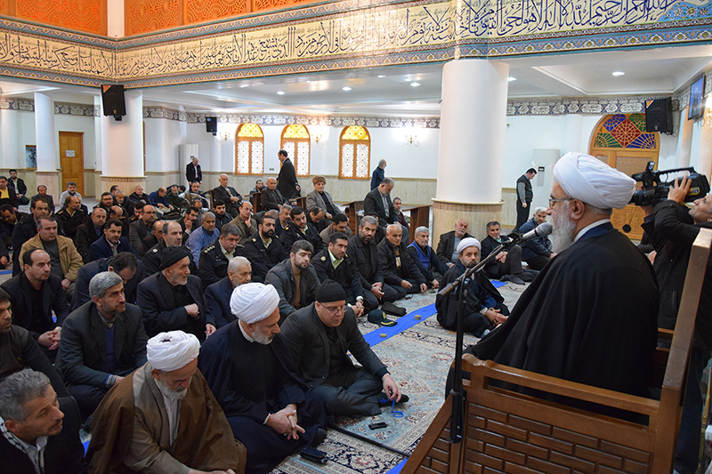 کاخهای دشمنان با زلزله انقلاب اسلامی، لرزیده است